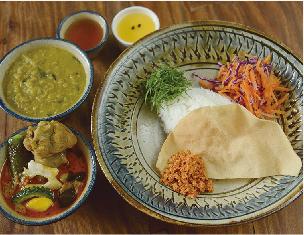 スリランカカレー2種 ¥1,200