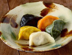 五味五色の水餃子 ¥1,000