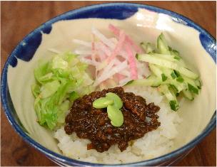 ミニジャージャン丼 ¥500
