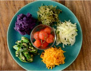 島野菜の盛合せ